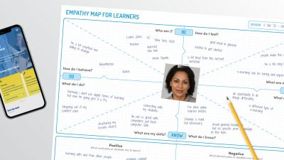 Empathy map for learners