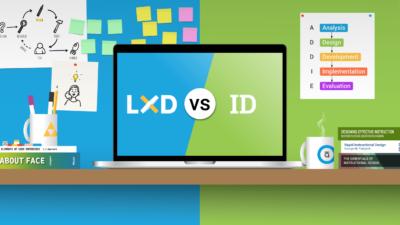 LX design vs Instructional design
